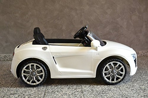 kinderfahrzeug elektro auto audio r8 spider. Black Bedroom Furniture Sets. Home Design Ideas