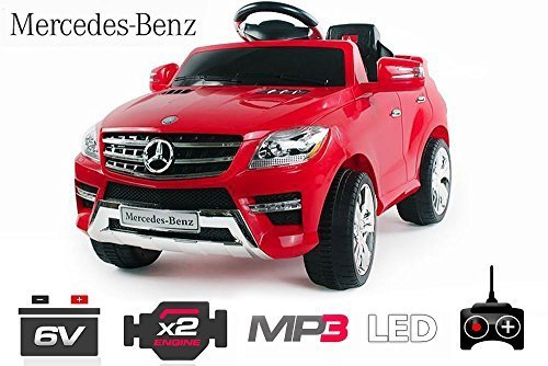 mercedes kinderauto lizenz ml350 jeep 6v 2x25w motor. Black Bedroom Furniture Sets. Home Design Ideas