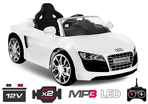 luxus kinder elektro auto audi r8 cabrio spyder. Black Bedroom Furniture Sets. Home Design Ideas