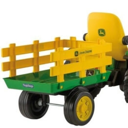 Anhänger fur John Deere Ground Force oder Loader Peg-perego - 1