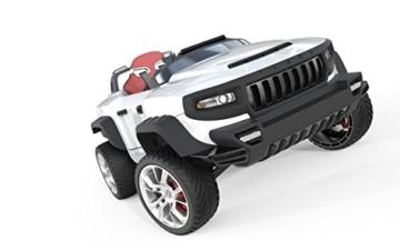 HENES BROON T870 Luxus Kinder Elektroauto weiß mit Tablet PC 24 Volt Allrad -
