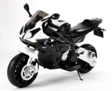 Kinder-Elektro Motorrad BMW S 1000 RR Swarz mit Reifen aus EVA -