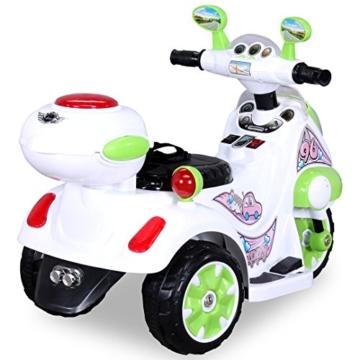 Kinder Elektrotrike LS-128A Elektro Trike Kinderauto Kinderfahrzeug Kindermotorrad (grün) -