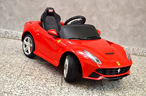 kinder elektroauto ferrari g nstig zu kaufen mit. Black Bedroom Furniture Sets. Home Design Ideas