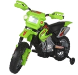 Kinderfahrzeug - Elektro Kindermotorrad - 6V4,5Ah - Neuheit-Grün -