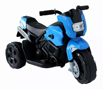Kinderfahrzeug- Elektro Kindermotorrad - Dreirad - 3 Farben zur Auswahl (Blau) -