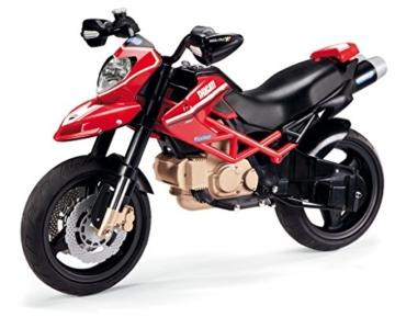 Peg Perego MC0015 - Peg Perego - Motorrad Ducati Hypermotard 1100 Evo, 12 Volt -