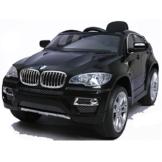 simron BMW X6 SUV Elektro Kinderauto Kinderfahrzeug Ride-On 12V Kinder Elektroauto -schwarz- -