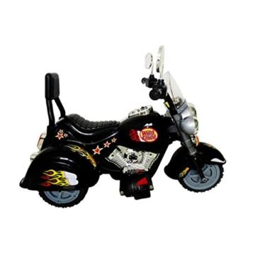 vidaXL Kinder Motorrad Chopper 2,5 km/h Akku schwarz -